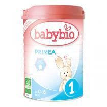 Babybio - Lot 6 boites Lait Nourisson Priméa 1 BIO 0-6 mois - 900g