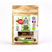 Biscru - Pépites de graines germées - Mélange Méditerranée - 100 g