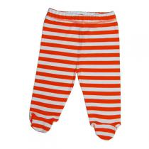 Canboli - Pantalon bébé Rayé Rouge Blanc coton bio