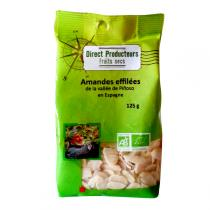 Direct producteurs Fruit secs - Amandes effilées de la vallée de Pinoso Bio 125 g