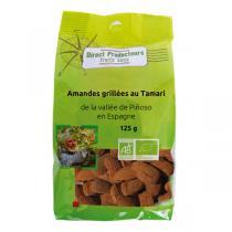 Direct producteurs Fruit secs - Amandes grillées au Tamari de la vallée de Pinoso Bio - 125 g