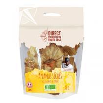 Direct producteurs Fruit secs - Ananas séchés du Rwanda Bio - 100 g
