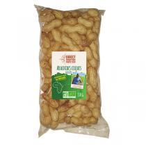 Direct producteurs Fruits secs - Arachides en coques grillées d'Egypte Bio - 330 g