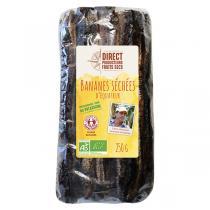 Direct producteurs Fruit secs - Bananes séchées d'Equateur Bio - 250 g