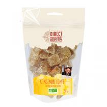 Direct producteurs Fruit secs - Gingembre confit des montagnes du Fugian Bio - 250 g