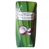 Direct producteurs Fruit secs - Lait de coco du Sri Lanka en Tétra Pak Bio - 330ml