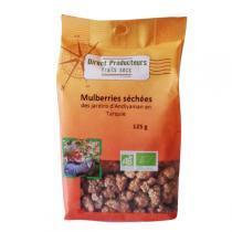 Direct producteurs Fruit secs - Mulberries séchées des jardins d'Andiyaman Turquie Bio 125g
