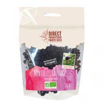 Direct producteurs Fruits secs - Myrtilles sauvages des forêts de Finlande Bio - 100 g