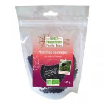Direct producteurs Fruit secs - Myrtilles sauvages des forêts de Finlande Bio - 125 g