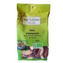 Direct producteurs Fruit secs - Noix d'Amazonie de Bolivie Bio - 125gr