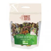 Direct producteurs Fruit secs - Pistaches décortiquées des plantations d'Albacete Bio - 125 g