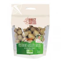Direct producteurs Fruits secs - Pistaches grillées salées des plantations d'Albacete Bio - 125 g