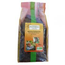 Direct producteurs Fruit secs - Raisins sultanine de la plaine de Manisa en Turquie Bio - 600gr