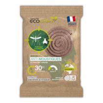 Ecolign - Spirales Anti-Moustiques - 7.6cm