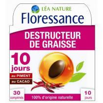 Floressance - Destructeur de graisses - 30 comprimés