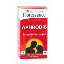 Floressance - Gélules Aphrodis® Intimité du couple - 40 gélules
