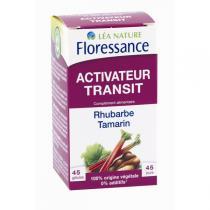 Floressance - Activateur Transit Rhubarbe Tamarin 45 gélules