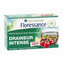 Floressance - Infusion Draineur intense, Frêne / Cassis / Sureau - 20 sachets