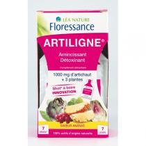 Floressance - Shots Artiligne® Amincissant détoxinant