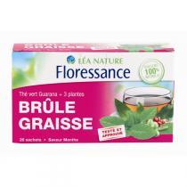 Floressance - Thé vert Brûle graisse Maté Guarana Café vert Kola