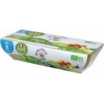 Grandeur Nature - Puree de fruits pommes vanille babyfood dès 8 mois 2x120g