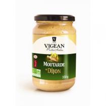 Huilerie VIGEAN - Moutarde bio de dijon nature 350gr