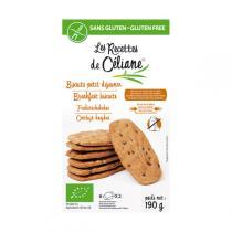 Les Recettes de Céliane - Biscuits Petit déjeuner bio 150 gr