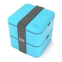 Monbento - MB Square blau - Bento Box