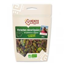 Pépite - Pistaches décortiquées des plantations d'Albacete Bio 125g