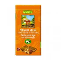 Rapunzel - Chocolat au lait praliné Vegan - 100g