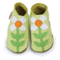Starchild - Babyschuhe aus Leder - Carmina Zitrone - grün - 0-24 Monate