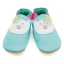 Starchild - Chaussons cuir Happy Cat 0-24 mois