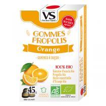 Vecteur Santé - Gommes propolis/orange bio 45g