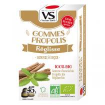 Vecteur Santé - Gommes propolis/réglisse bio 45g