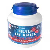 Vecteur Santé - Huile de Krill 500mg Oméga 3 30 caps