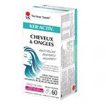 Vecteur Santé - Ker'Activ Cheveux & Ongles x 60 gélules végétales