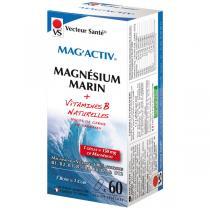 Vecteur Santé - Mag'Activ Magnésium Marin et Vitamines B x 60 gélules végétales
