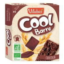 Vitabio - Cool Barres Chocolat Bio 4x25g