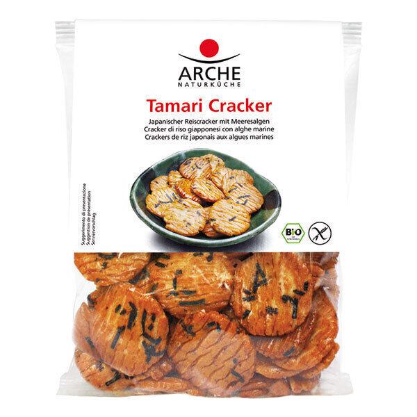 Arche - Tamari cracker biscuits aperitifs 80g