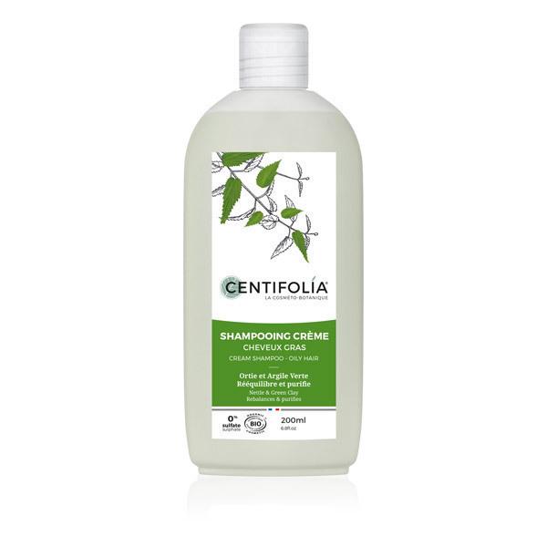 Centifolia - Shampoing Cheveux gras Ortie Argile verte 200ml