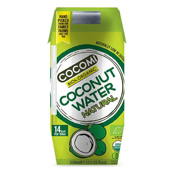Cocomi - Eau de coco nature du Sri Lanka Bio - 330 ml