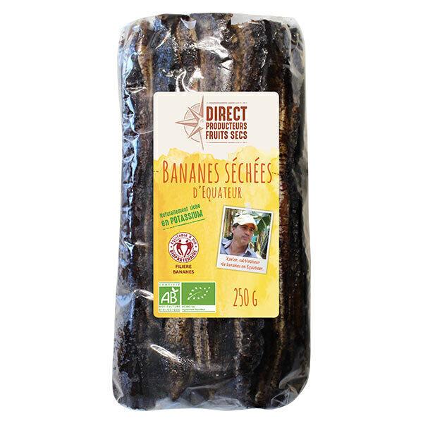 Pépite - Bananes séchées d'Equateur Bio - 250 g