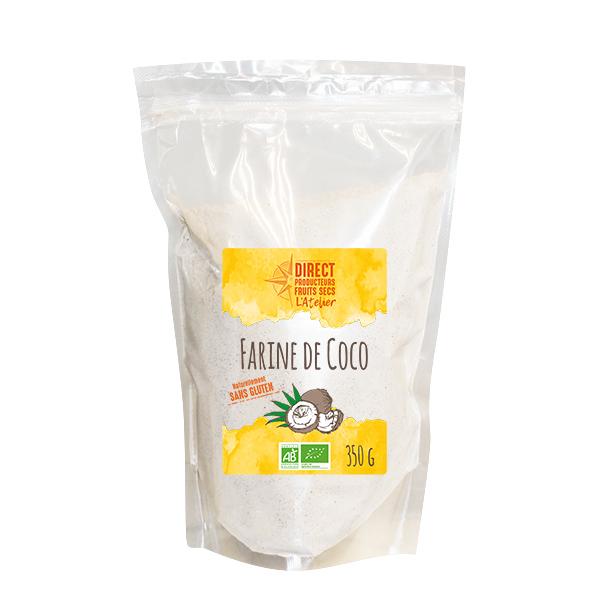 Pépite - Farine de coco du Sri Lanka Bio - 350 g