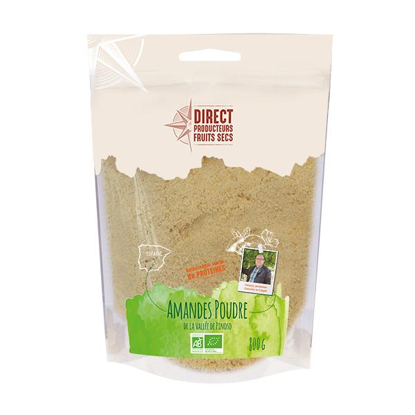 Pépite - Amandes poudre de la vallée de Pinoso en Espagne Bio - 800 g