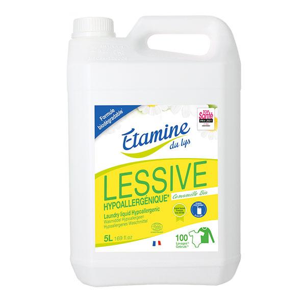 Etamine du Lys - Lessive liquide hypoallergénique 5L
