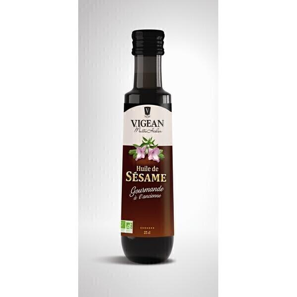 Huilerie VIGEAN - Huile de Sésame bio gourmand 25cl