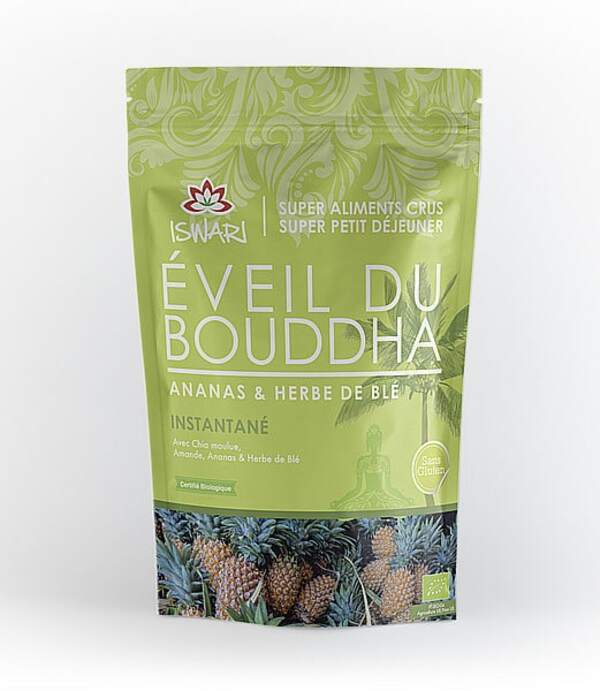 Iswari - Eveil du Bouddha Ananas et Herbe de Blé - 360g