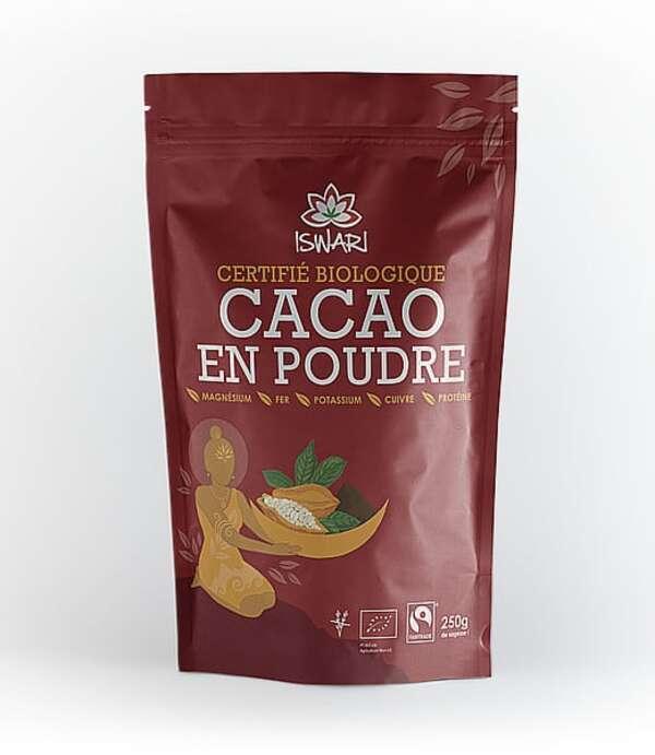 Iswari - Cacao Cru en Poudre - 250g