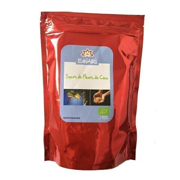 Iswari - Sucre de fleurs de Coco biologique - 250g