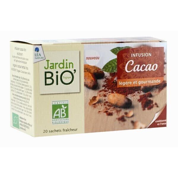 Infusion cacao 20 sachets jardin bio acheter sur for Jardin bio